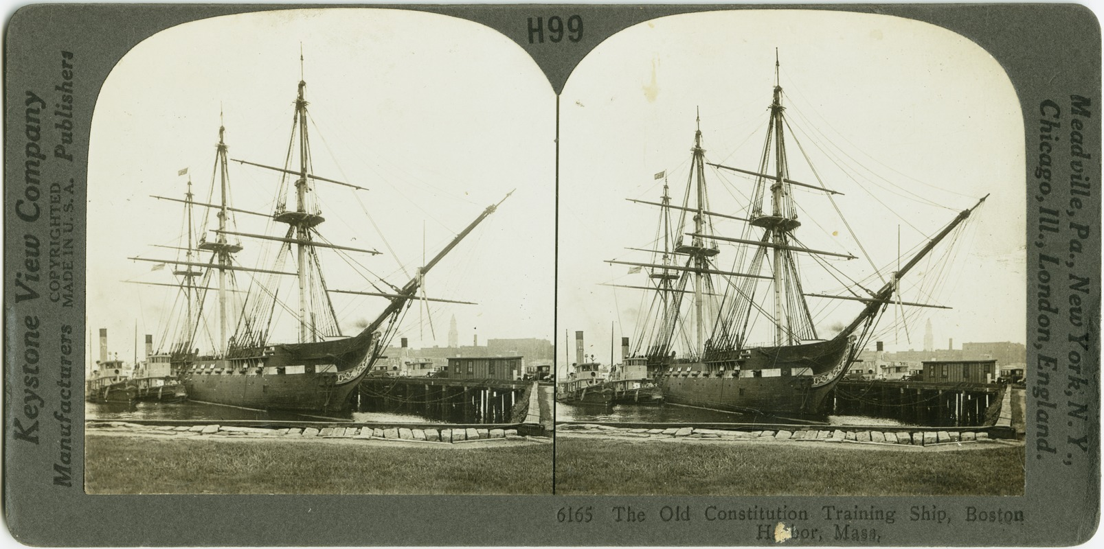 "Frigate Constitution, ""Old Ironsides"""