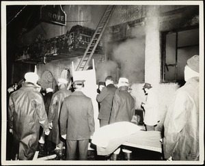 Cocoanut Grove fire, Boston, Nov. 28, 1942
