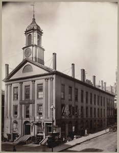 Boston, Massachusetts. Boylston Market, 1809