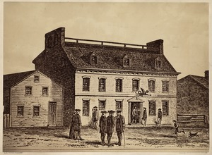 Green Dragon Tavern, Union St., built pre-Revolution, razed ca. 1828