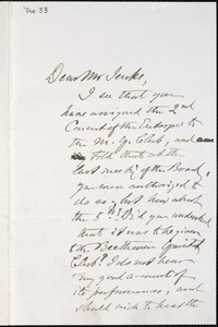 Letter from Charles C. Perkins to Francis H. Jenks, 1879 November 15