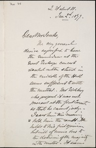 Letter from Charles C. Perkins to Francis H. Jenks, 1879 January 2