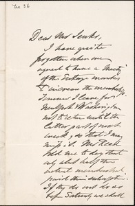 Letter from Charles C. Perkins to Francis H. Jenks, 1879 October 27