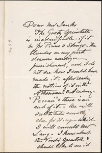Letter from Charles C. Perkins to Francis H. Jenks, 1880 October 22