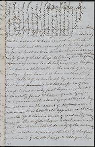 Letter from Mary Anne Estlin, Park St[reet], [Bristol, England], to Emma Forbes Weston, Oct. 21, 1851