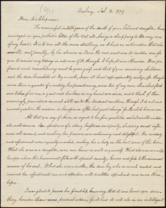 Copy of letter from William Lloyd Garrison, Roxbury, [Mass.], to Maria Weston Chapman, Feb. 2, 1879
