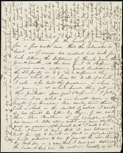Letter from Maria Weston Chapman, Boston, [Mass.], to William Lloyd Garrison, Aug. 4th, 1843