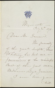 Letter from Maria Weston Chapman, Weymouth, [Mass.], to Francis Jackson Garrison, July 30th, 1878