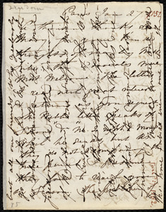 Letter from Maria Weston Chapman, Paris, [France], to Mary Anne Estlin, Jan. 27th, [1852]