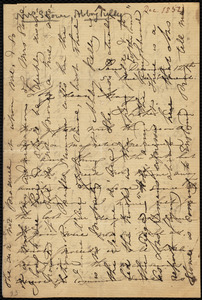Letter from Maria Weston Chapman, 53 Rue de Verneuil, Paris, [France], to Mary Anne Estlin, December 12th, [1852]