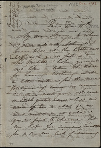 Letter from Maria Weston Chapman, Paris, [France], to Mary Anne Estlin, Dec. 12th, [1852]