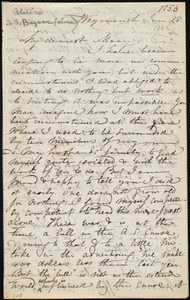Letter from Maria Weston Chapman, Weymouth, [Mass.], to Mary Anne Estlin, Jan. 28, [1856]