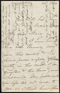 Letter from Maria Weston Chapman, 119 Madison Avenue, New York, to Mary Anne Estlin, Feb'y 12th, [1866]