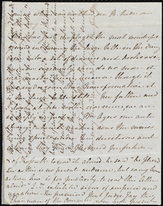 Letter from Emma Michell, Park St[reet], [Bristol, England], to Maria Weston Chapman, Feb. 17th, [1852?]