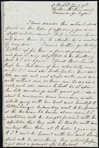 Letter from Emma Michell, 47 Park Street, [Bristol, England], to Maria Weston Chapman, April 29th, [1853?]
