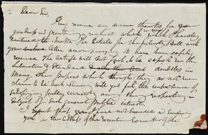 Draft of letter from Maria Weston Chapman to Thomas Clarkson and Mrs. Seaman, [1844 Sept.?]