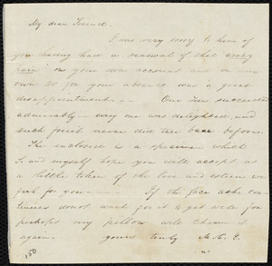 Two poems by Maria Weston Chapman, [1843?]