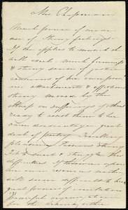 Letter to Maria Weston Chapman, [London?, England], [1848-1855]