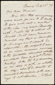 Letter from Edmund Quincy, Quincy, [Mass.], to Maria Weston Chapman, July 26, [18]39
