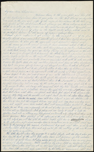 Letter from Rachel W. Stearns to Maria Weston Chapman, [1841?]