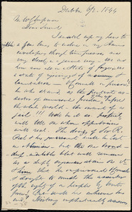 Letter from Richard Allen, Dublin, [Ireland], to Maria Weston Chapman, 6/2 1844