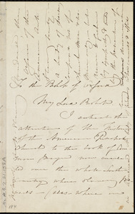 Letter from Maria Weston Chapman to Samuel Wilberforce, [1845?]