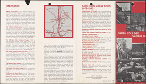 Smith College, Northampton, Massachusetts, and associated parts of Hatfield, Massachusetts