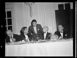 Former DA Ed Dinis with JFK, Harry Truman & Paul Dever. Dinis later tried to prosecute Ted Kennedy for Chappaquiddick