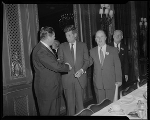 JFK at the Palmer House in Chicago for convention