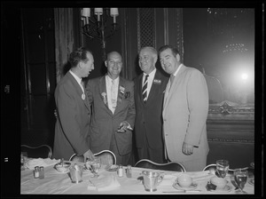 Dinner at the Palmer House in Chicago during convention