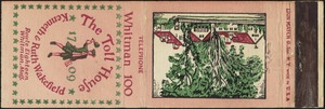 The Toll House matchbook