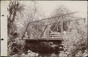 Appears to be the bridge in Oakdale over the Quinepoxet River