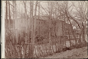 Back of Holbrook's mill