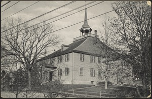 The Old Meeting House (erected 1681) Hingham, Mass.