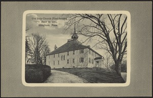 Old Ship Church (First Parish), built in 1681, Hingham, Mass.
