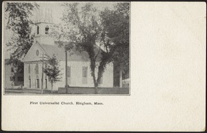 First Universalist Church, Hingham, Mass.