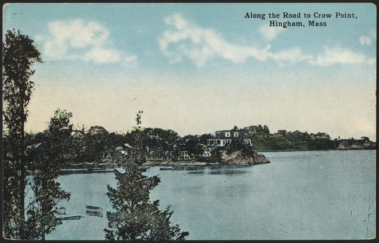 Along the road to Crow Point, Hingham, Mass.