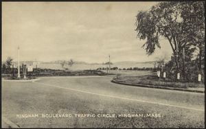 Hingham Boulevard traffic circle, Hingham, Mass.