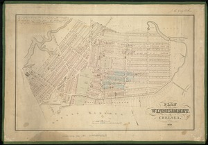 Plan of Winnisimmet, in Chelsea