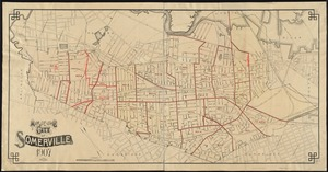 Map of the city of Somerville, 1907