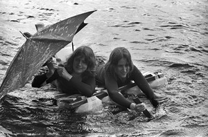 Harvard raft race: A too-fragile entry, Cambridge