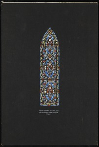 Design for nave window. (two), Massachusetts General Hospital Chapel