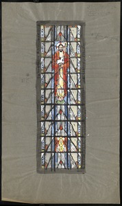 """Lynn, Mass. St. Mary's Church. 8"""" from our glass."""