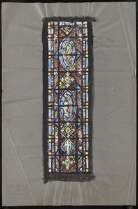 Window with multiple medallions.