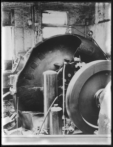 Metropolitan Water Works Miscellaneous, break in turbine, Mass., ca. 1910-1919