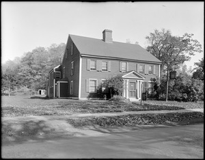 The Antiquarian Society's Old House, Lexington Road, Concord, Mass.
