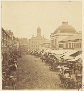 Quincy Market & Faneuil Hall