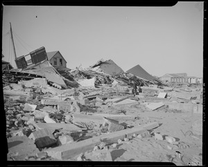 Houses destroyed, Hurricane of 38