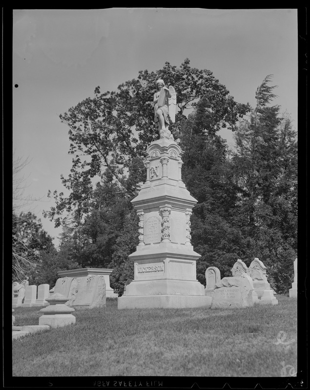 Tombstones, 2-6 Frederick Nickerson, December 15, 1808 - January 12, 1879