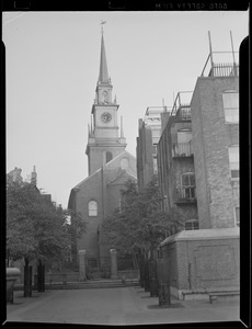Old North Church from the rear, North End